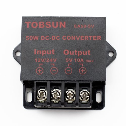 Supernight (Tm) Led Strip Strings Power Supply Dc 12V 24V To 5V 10A 50W Dc Volt Converter Step Down Regulator Dc Voltage Transformer