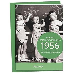 1956 - Ein ganz besonderer Jahrgang Zum 60. Geburtstag: Jahrgangs-Heftchen mit Umschlag