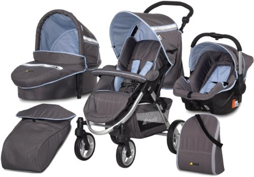 Hauck Apollo 4 All in One Pushchair travel system