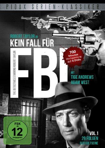 Pidax Serien-Klassiker: Kein Fall für FBI - Vol. 1 [4 DVDs]
