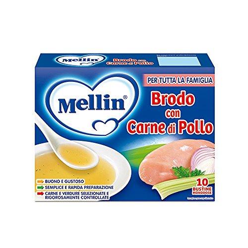 Brodo In Polvere Di Carne E Pollo 10 Bustine