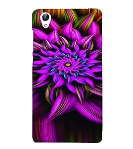 PrintVisa Corporate Print & Pattern Modern Art Flower 3D Hard Polycarbonate Designer Back Case Cover for VivoY51L