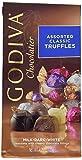 Godiva Chocolatier Assorted Classic Truffles Milk Dark White 4.25oz