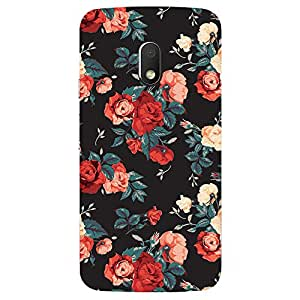 Moto G Play Red Beauty Printed back cover