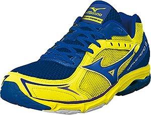 Mizuno Wave Aero 13 men blue/yellow 42.5