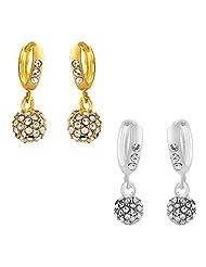 Mahi Combo Of Glamorous Earrings For Women CO1104330M