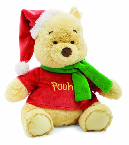 Kids Preferred Disney Baby Winnie The Pooh Holiday Plush - 1