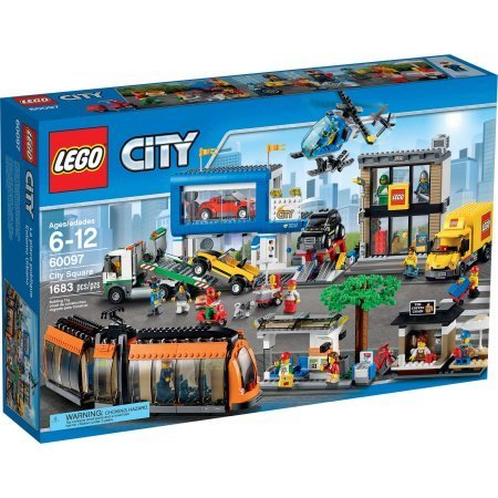 LEGO City Town City Square, 60097 by Generic