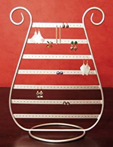 SILVER JEWELRY harp Earring RACK stand HOLDER