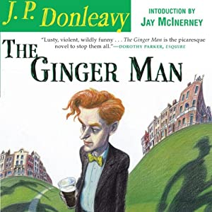 The Ginger Man Audiobook J P Donleavy Audible Com border=