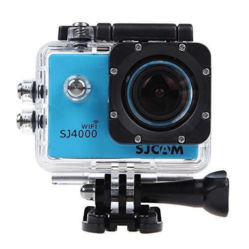 Wifi SJ4000 Outdoor Sports DVR Cam Action DV Camera Car Recorder 1080P 1.5 Inch 12MP 170 degree Full HD Wide-angle Micro USB 2.0 Blue