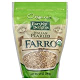 Earthly Delights Farro, Italian, Organic 14.0 OZ(pack of 6)