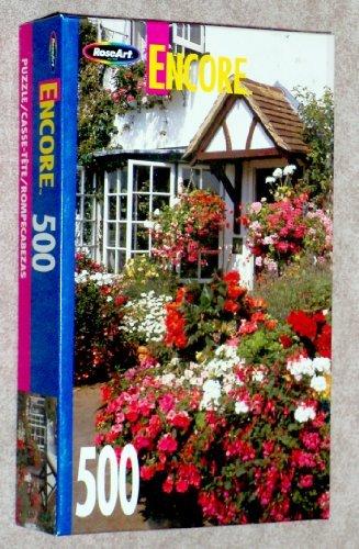 Encore 500pc. Puzzle-Oxfordshire Flowers