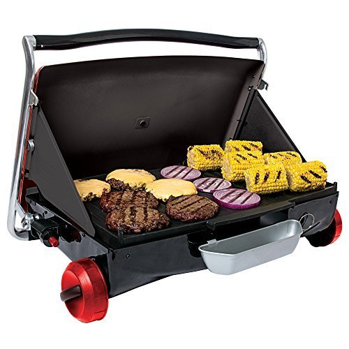 george-foreman-gp200r-camp-and-tailgate-grill-red-by-george-foreman