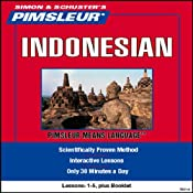 Indonesian: Lessons 1 to 5: Learn to Speak and Understand Indonesian | [Pimsleur]