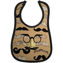 Mini Maniacs - Groucho Mustache Bib