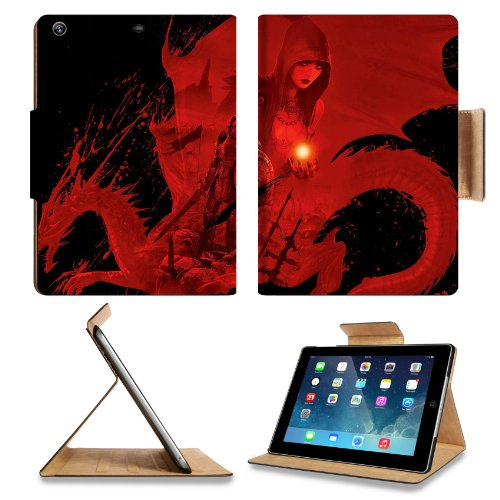 Dragon Age Origins Artwork Worriers Apple Ipad Air Retina Display 5Th Flip Case Stand Smart Magnetic Cover Open Ports Customized Made To Order Support Ready Premium Deluxe Pu Leather 9 7/16 Inch (240Mm) X 7 5/16 Inch (185Mm) X 5/8 Inch (17Mm) Luxlady Ipad front-115827