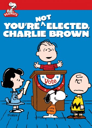 amazoncom youre not elected charlie brown chad webber