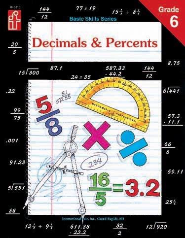 Decimals and Percents, Grade 6, ANDREA MILES MORAN