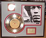 "Jimi Hendrix ""Gloria"" Framed Gold Record Music Memorabilia"