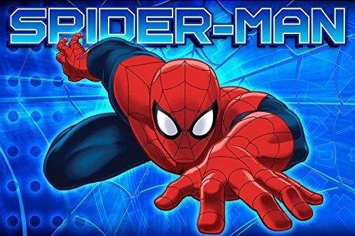 "New Marvel Memory Foam Mat 15.7""x23.5"" (Spider-Man)"
