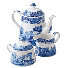 Spode Blue Willow Tea Set