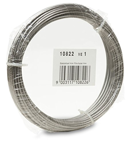 Cable de acero inoxidable Windhager 10822 14 m