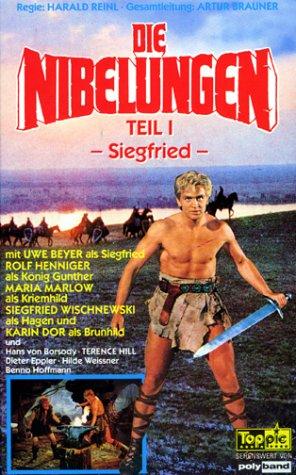 Die Nibelungen - Teil I - Siegfried [VHS]