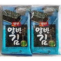 韓国海苔 ヤンバンカット 8切8枚×8袋入 (×1袋)