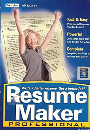 Individual Resume Maker Pro Version 14
