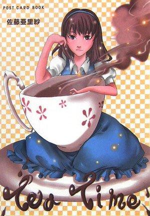 Tea time : Post card book