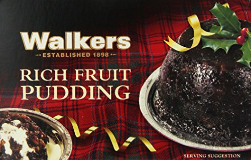 Walkers Shortbread Rich Fruit Pudding, 16-Ounce Box (British Christmas Cake compare prices)