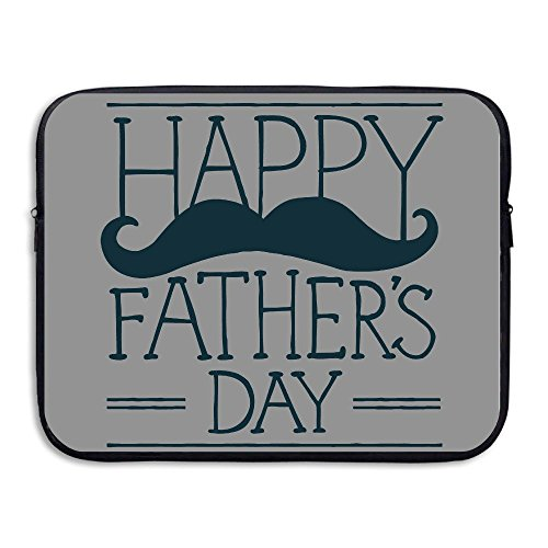 Custom Geek Fathers Day Waterproof Tablet Protector Case Bag 15 Inch