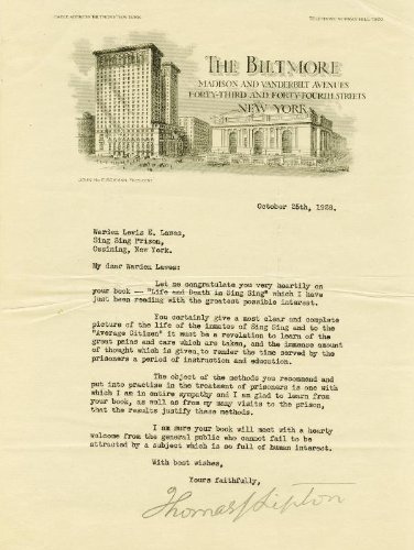 Thomas J. Lipton - Typed Letter Signed 10/25/1928