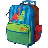 Stephen Joseph Little Boys' Rolling Luggage