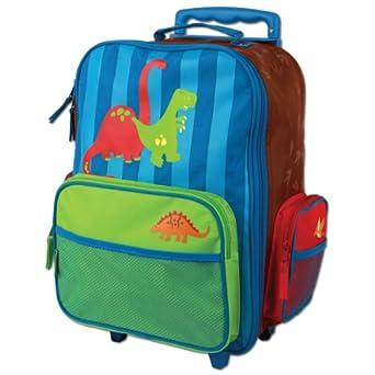 Stephen Joseph Little Boys' Rolling Luggage, Dino, One Size