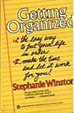 Getting Organized the Easy Way to Put Yo (044697806X) by Winston, Stephanie