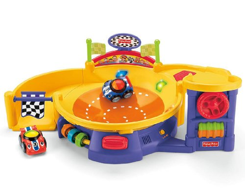 Fisher-Price Lil' Zoomers Spinnin' Speedway