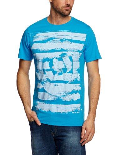 Animal Legget Printed Men's T-Shirt Malibu Blue Small - CL3SC017-N28-S