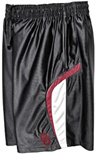 Buy NCAA Oklahoma Sooners Mens D-Up Hoop Short, Black by SECTION 101 Majestic