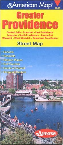 Greater Providence, Rhode Island Street Map