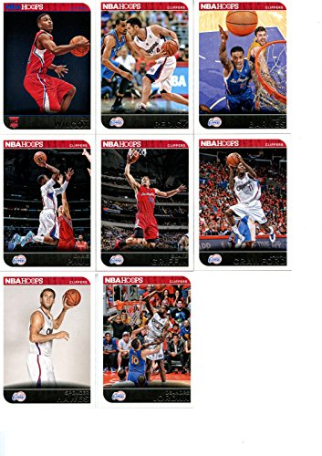Los Angeles Clippers 2014 2015 Hoops Basketball NBA Licensed Factory Sealed 8 Card Team Set with Blake Griffin Chris Paul and More los angeles clippers 2014 2015 hoops basketball nba licensed factory sealed 8 card team set with blake griffin chris paul and more