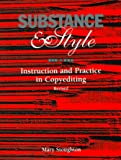 Substance & Style: Instruction and Practice in Copyediting (0935012184) by Mary Stoughton