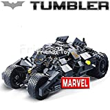 325pcs Batman the Tumbler Batmobile Joker Super Heroes Dc Building Blocks Marvel Set Minifigures Toy Compatible with Lego Without Original Boxes