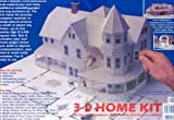 3-D Home Kit: All We Need to Construct a Model of The Own Home or Addition (with Booklet