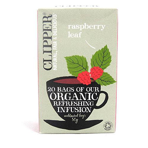Clipper Teas - Organic Raspberry Leaf Infusion - 50G (Case Of 6)