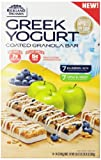 Rickland All Natural Greek Yogart Bar, 7 Apple & Honey and 7 Blue Berry Acai, 19.74 oz