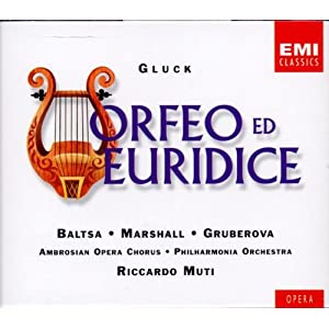 Gluck: Orfeo ed Euridice / Baltsa, M. Marshall, Gruberova; Muti