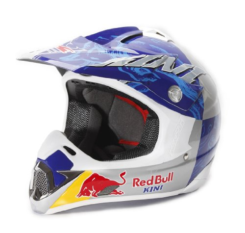 Kini Red Bull Competition Motocross Helm White/Blue XXL