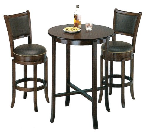 Black friday York black Pub Table Set with 2 Leather  : 51QHR5PYCPL from sites.google.com size 500 x 453 jpeg 38kB